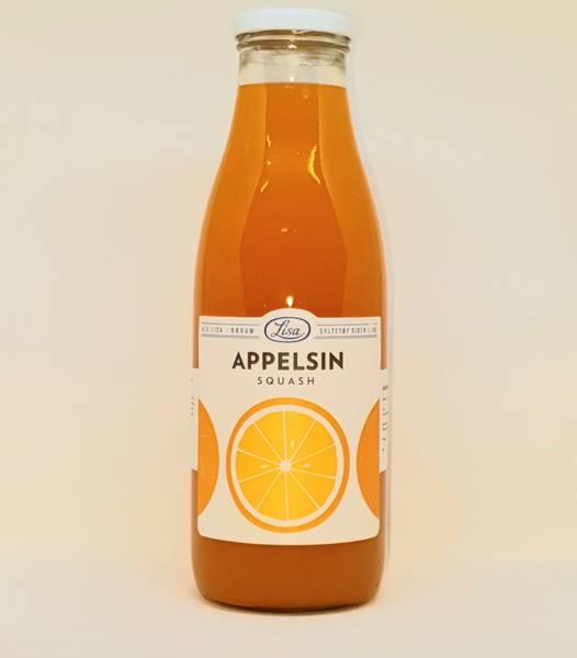 Appelsin Squash 750ml